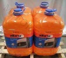 x 4 ZIBRO KRISTAL Combustibile liquido universale per quals. stufa 20lt inodore