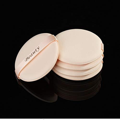 Drametree Puff de Coussin d'air cosmétique en Forme d'éponge de Poudre Humide et sèche de Poudre de Maquillage de BB Grande Puff de Maquillage (Paquet de 5)