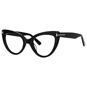 Voogueme Readers Stylish Cat Eye Blue Light Blocking Reading Eyeglasses for Women Veromca