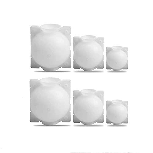 SOONHUA Caja de Enraizamiento de Corte Asistida por Bola de Enraizamiento de Planta Dispositivo de Enraizamiento de Planta de 6 Piezas Esquejes de Alta Presión Bola de Propagación de