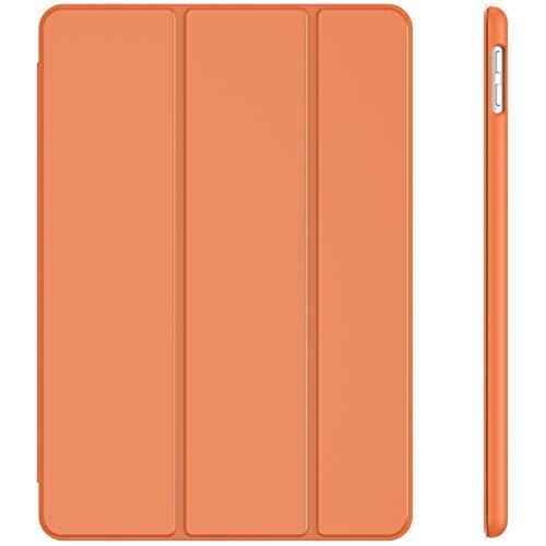 JETech Hülle für iPad 8/7 (10,2 Zoll, Modell 2020/2019, 8./7. Generation), Auto Schlafen/Wachen, Papaya