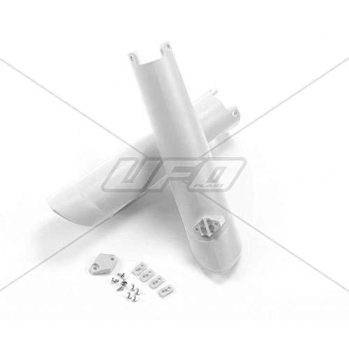 UFO - Protections Fourches Blanc Compatible Husqvarna 125 250 350 450 FC/TC 15-17