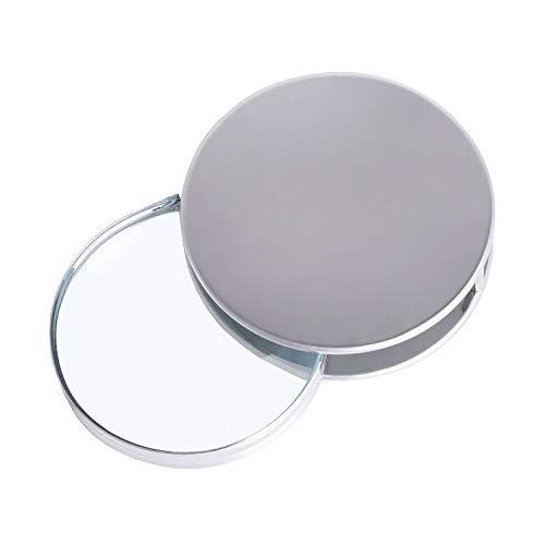 Lupa de bolsillo plegable de metal con lentes de aumento de 20...