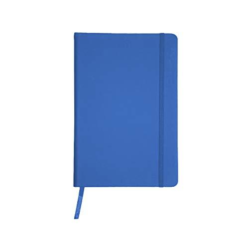 Projects taccuino  Color-Line  in formato DIN A6 - a righe ecologiche 80 g m2 carta FSC 192 pagine, copertina rigida con rivestimento morbido in PU & segnalibro & nastro di chiusura
