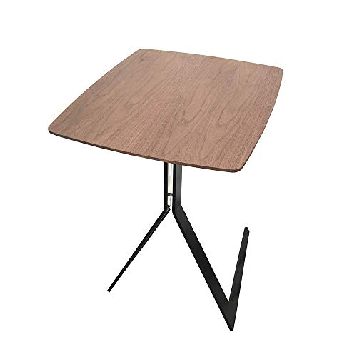 Carl Artbay Home&Selected Furniture/Retro massief houten laptoptafel ruimte salontafel bijzettafel nachtkastje voor slaapkamer woonkamer restaurant 44 * 44 * 59 cm