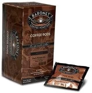 Baronet Hazelnut DECAF Coffee Pods-2 Pack-36 Coffee Pods
