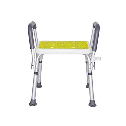 Find Cheap RDMZ Shower Chair Shower and Bathroom Chairs with Armrests and Hygienic Design Height-Adj...