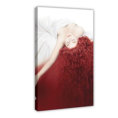 Póster famoso de la película Perfume, la historia de un asesino, 1 lienzo para decoración de pared, cuadro para sala de estar, dormitorio, marco de decoración de 40 x 60 cm