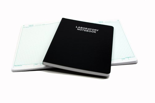 Scientific Notebook Company Flush Trimmed, 3001 Laboratory Notebook, 192 Pages (.25