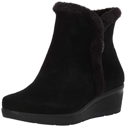 Anne Klein Women's Inner Boot Snow, Black, 5.5 M US