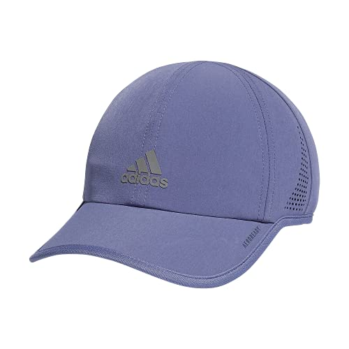 adidas Women's Superlite 2 Relaxed Adjustable Performance Cap, Orbit Violet Purple/Silver Reflective, One Size