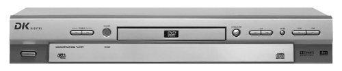 DK Digital DVD 911 DVD-Player Silber