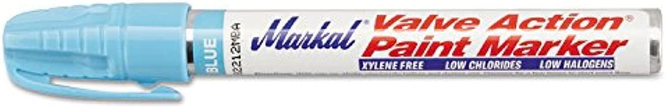 Markal Valve Action Paint Markers - vaps lt. blue valve action paint marke