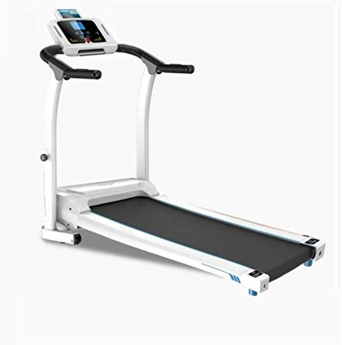 Affordable YFFSS Electric Folding Treadmill Walking and Running Machine, Cardio Fitness Exercise Equ...
