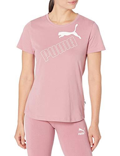 PUMA Damen Amplified T-Shirt, Fingerhut, X-Klein