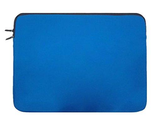 Laptopülle mit dem Reißverschluss Neopren Laptoptasche Hülle Sleeve für Ultrabook/Netbook Für Apple/ipad 17zoll Blau