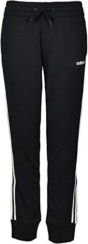 adidas Neo Essentials - Pantalón deportivo para mujer (3 rayas) - Negro - Small