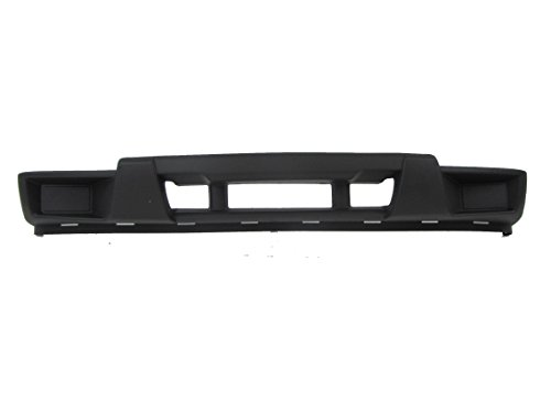 04-12 Chevy Colorado Canyon Front Bumper Cover Lower Dark Grey Without Fog Hole GM1000723