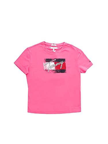 Tommy Hilfiger KG0KG05909 Camiseta Manga Corta Chica Fucsia 6 A