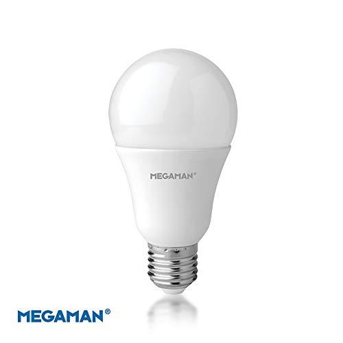 Megaman LED-Glühbirne 142580, dimmbar, RichColor R9 GLS Style, klassische Opal-Lampe, E27, Edisoin-Schraube, 2800 K, Warmweiß, 13,3 W, 1055 lm, A+ Bewertung, 25000 Stunden geschätzte Lebensdauer