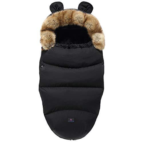 Baby Kinderwagen-Schlafsack für den Winter, warm, Schlafsack, Bademantel, Fußsack, Winter-Outdoor-Tour, Kinder-Kinderwagen-Schlafsack