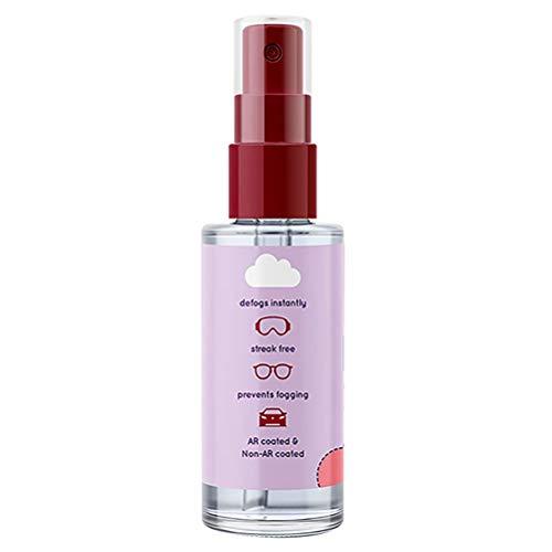 Tianbi Detergente per Lenti Spray Anti-Appannamento Spray Anti-Appannamento Invernale per Occhiali Spray Anti-Appannamento a Lunga Durata per Specchietti Retrovisori per Auto Occhiali