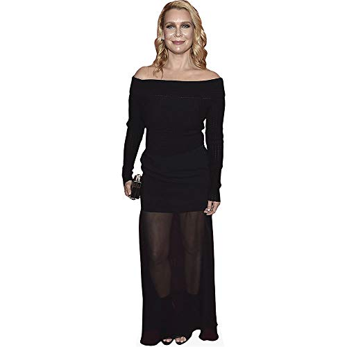 Celebrity Cutouts Laurie Holden (Black Outfit) Pappaufsteller Mini