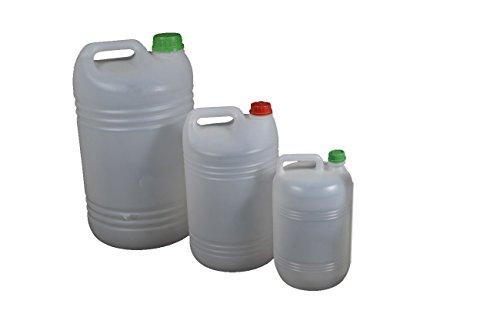 PAMPOLS Garrafas de 25 litros con asa y tapón 8u