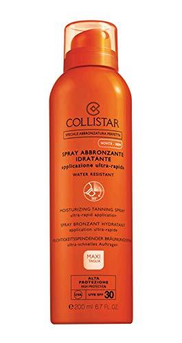 Collistar Spray Abbronzante Idratante Applicazione Ultra-Rapida (Spf 30) - 200 ml.