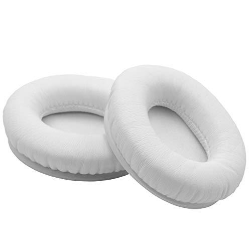 vhbw cuscinetti auricolari di ricambio compatibile con Beats by Dr. Dre Solo HD cuffie, headset - bianco