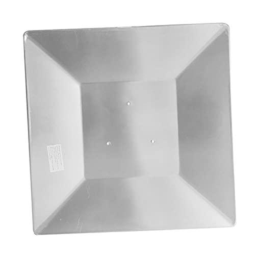N\C Calentador de Patio Reflector Shield Orificios pretaladrados para propano Gas Natural Enfoque de Calor Cubierta Protectora de toldo de jardín al Aire - 10,7 cm 4,2 Pulgadas
