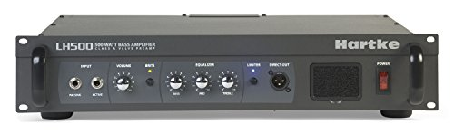Hartke 『LH500』 ベースアンプ・ヘッド 500W/4Ω 「国内正規品」