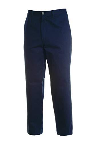 Payper - Pantalone da lavoro WORKER. Blu navy (L)