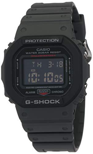 Casio G-Shock Digital Black Dial Unisex's Watch-DW-5610SU-8DR (G1016)