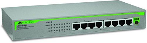 Allied Telesis AT-FS708/POE No administrado Energía sobre Ethernet (PoE) - Switch de...