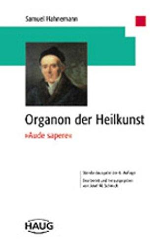 Hahnemann, Samuel:<br>Organon der Heilkunst - jetzt bei Amazon bestellen