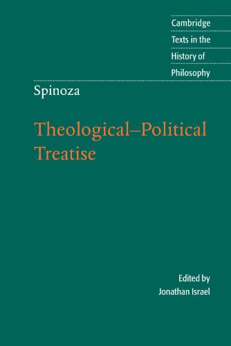 Theological-Political Treatise (Cambridge Texts in the History of Philosophy)