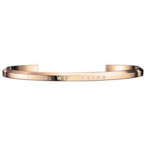 Daniel Wellington DW00400001 - Pulsera para hombre, brazalete, acero inoxidable parcialmente chapado en oro, 65 cm