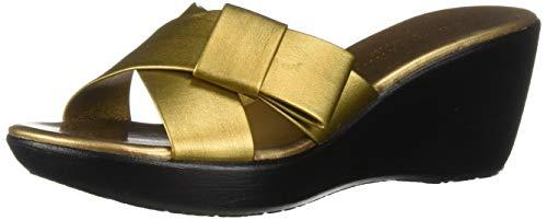 Athena Alexander Women's Striker Sandal, Bronze, 9 M US