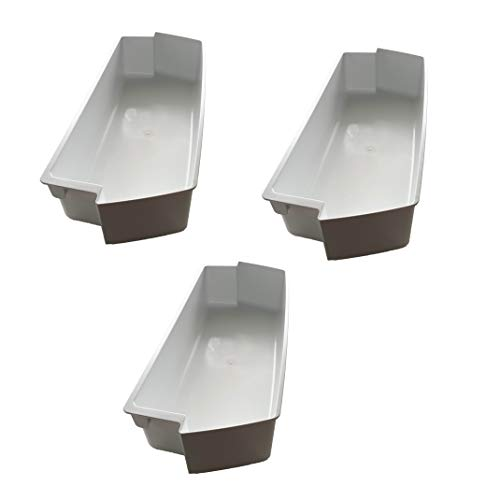 2187172 (3PK) Replacement Door Bin MADE IN USA Fits Whirlpool Kenmore Roper Amana Crosley Estate Refrigerator