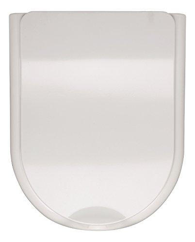 Sanitop-Wingenroth - 56845 6 - WC-Sitz in Weiß - Passend für das behindertengerechte WC - Toilettensitz aus Duroplast-Kunststoff mit Metall-Scharnier