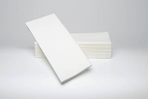 Simulinen Max 49% OFF Dinner Napkins Financial sales sale -White - Cloth Decorative Like Dispos