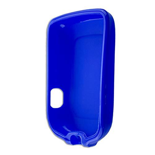caseroxx TPU-Hülle für Freestyle Libre 1/2 / Insulinx / 14 Day, Tasche (TPU-Hülle in blau)