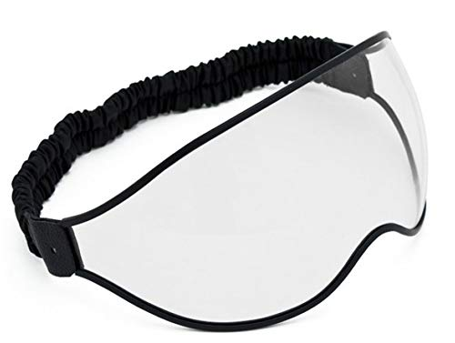 DMD Vintage Goggle Clear Visier Brille mit Band