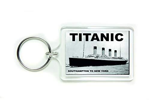 Schlüsselanhänger Titanic Southampton to New York Acryl