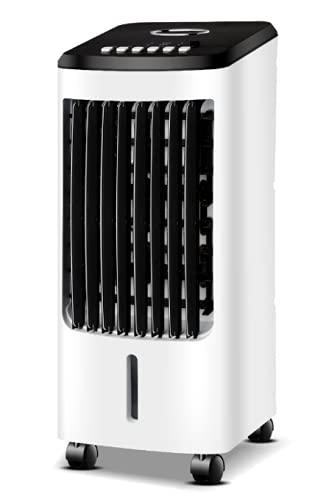 Ventilador Evaporativo MyWave MWHUM-4L Capacidad 4L Función de Refrigeración/Humidificación 7 Horas de Temporizador 3 Velocidades Pantalla LED Color Blanco