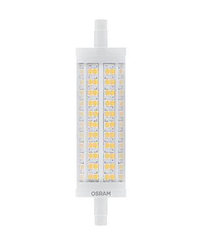 OSRAM LED Superstar Line, Sockel: R7S, Dimmbar, Warmweiß, Ersetzt eine herkömmliche 150 Watt Lampe, Klar