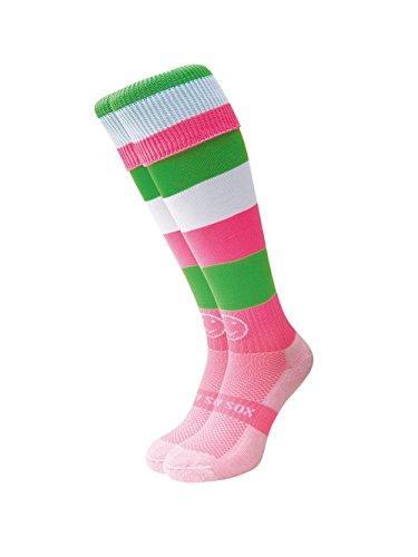 WackySox Wassermelone Sport-Socken Adult Shoe Size 11-14