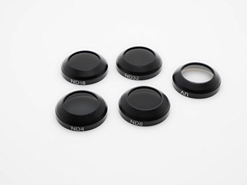 TACO-RC Snap on ND filters set 5-pack (UV/ND4/8/16/32) for DJI Mavic