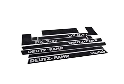 Juego de adhesivos genéricos de DEUTZ FAHR DX 3.90